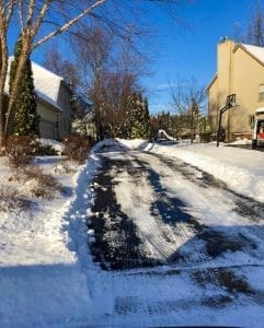 Snow removal in Bloomfield
