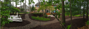 mulching job completed in Bloomfield