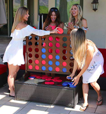 Yard Games You Need in Your Life This Summer: Giant Connect Four