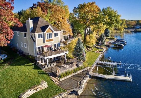 Michigan's Fall Foliage in White Lake